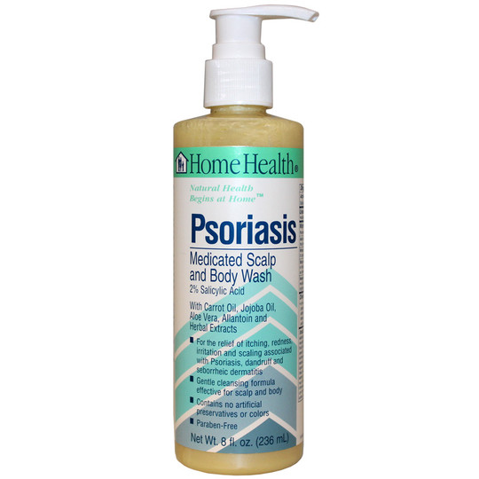 Psoriasis Medicated Scalp and Body Wash