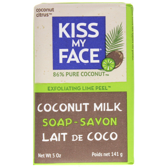 Pure Coconut Milk Soap with Lime Peel