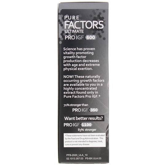 Pure Factors Ultimate Pro IGF 600