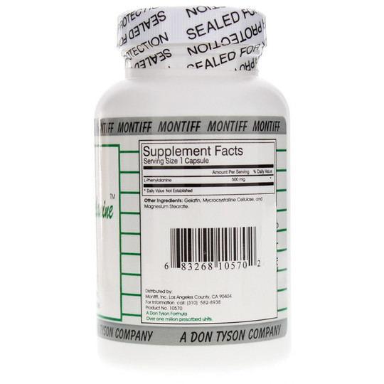 Pure L-Phenylalanine 500 Mg