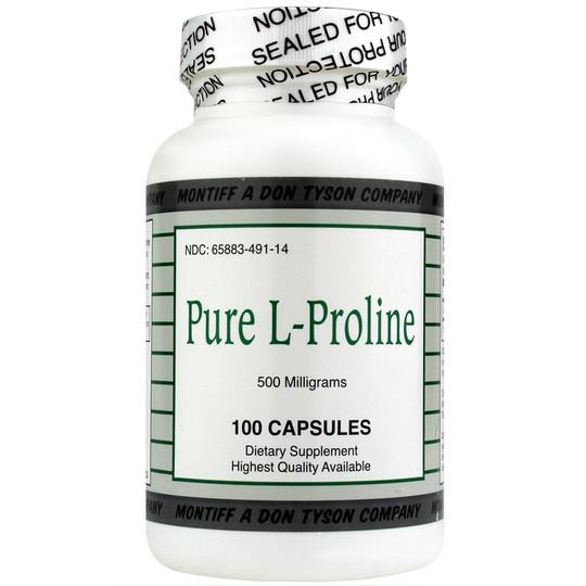 Pure L-Proline 500 Mg