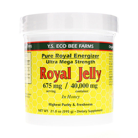Pure Royal Energizer Royal Jelly in Honey