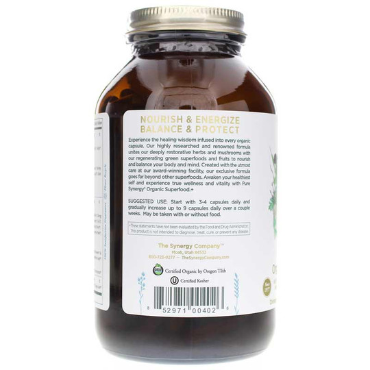 Pure Synergy Organic Superfood Capsules