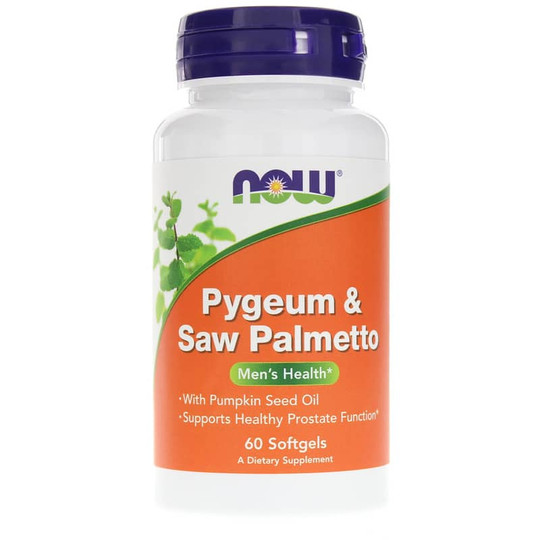 Pygeum & Saw Palmetto