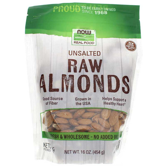 Raw Almonds Unsalted