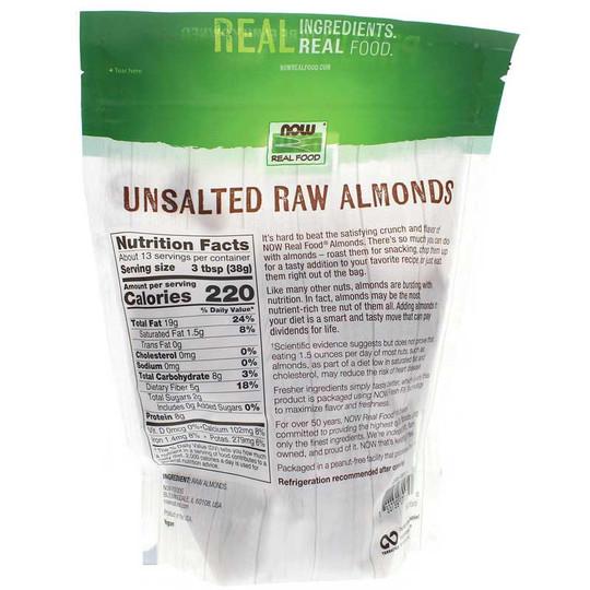Raw Almonds Unsalted