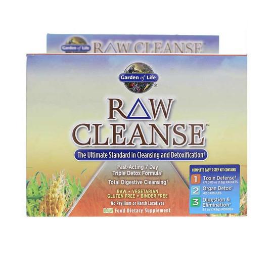 Raw Cleanse 7 Day Triple Detox Kit