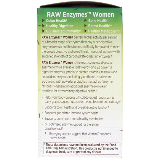Raw enzymes women garden of life - Garden of life digestive enzymes ...