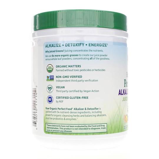 Raw Organic Perfect Food Alkalizer & Detoxifier Green Powder