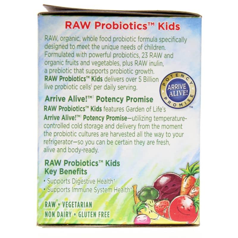 Raw probiotics kids powder garden of life - Garden of life children s probiotics ...