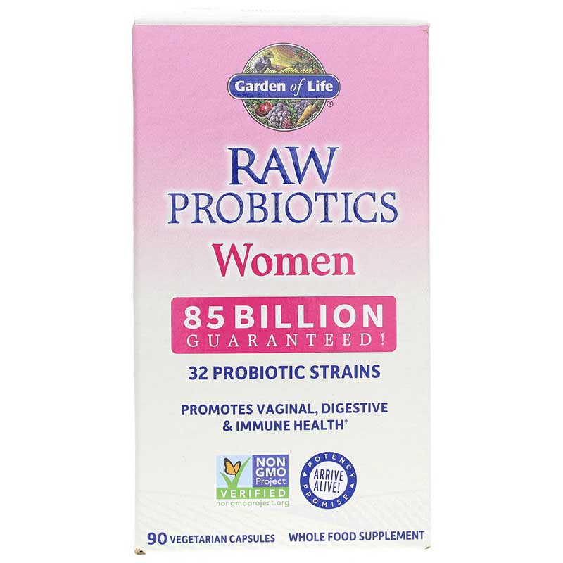 Garden Of Life Raw Probiotics Women 90 Veg Capsules Shefinds