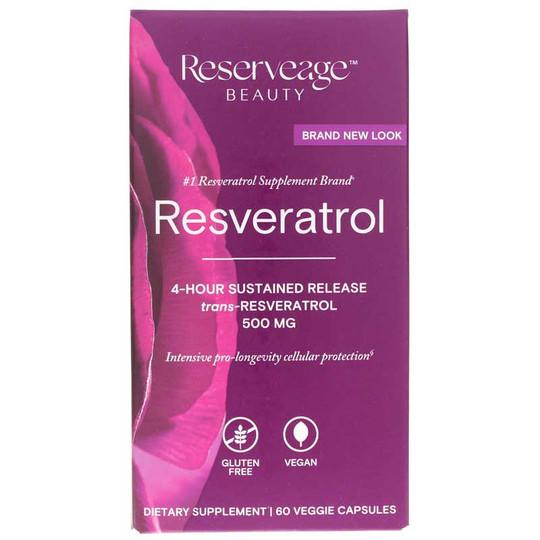 Resveratrol 500 Mg Reserveage Nutrition