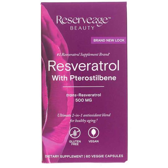 Resveratrol 500 Mg with Pterostilbene