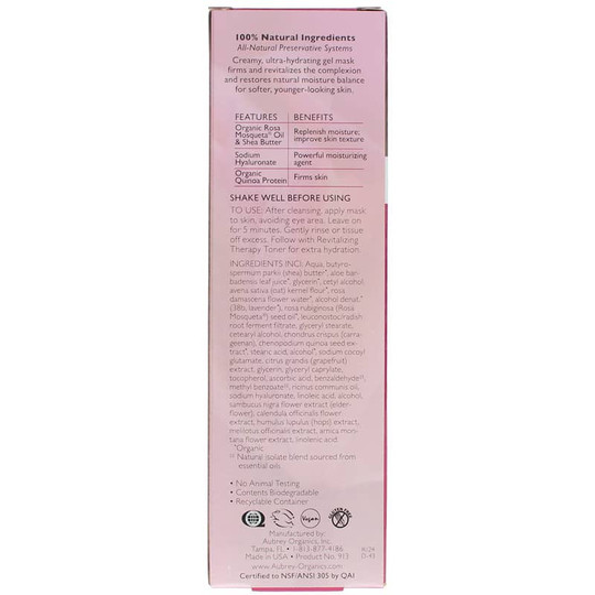 Revitalizing Therapy Gel Mask for Dry Skin
