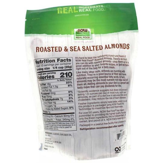 Roasted Almonds with Sea Salt