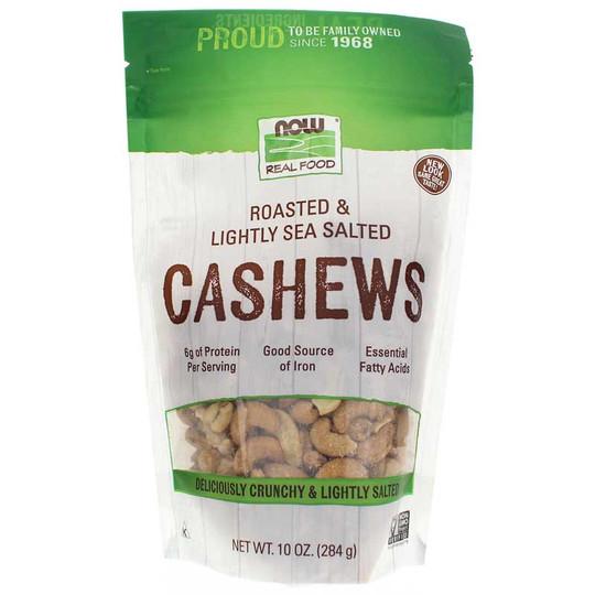 Roasted Cashews Lightly Sea Salted