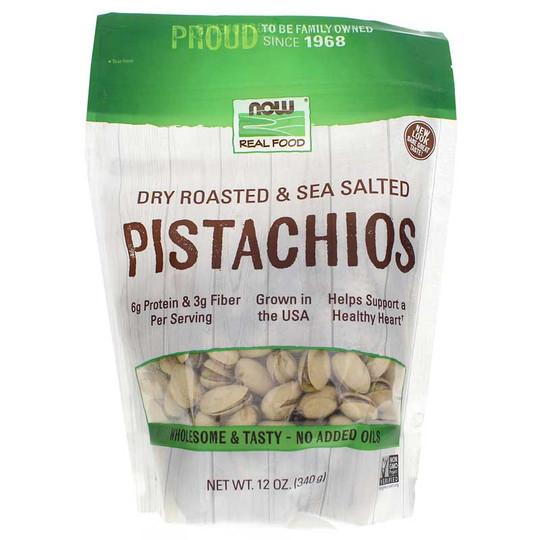 Roasted Pistachios with Sea Salt