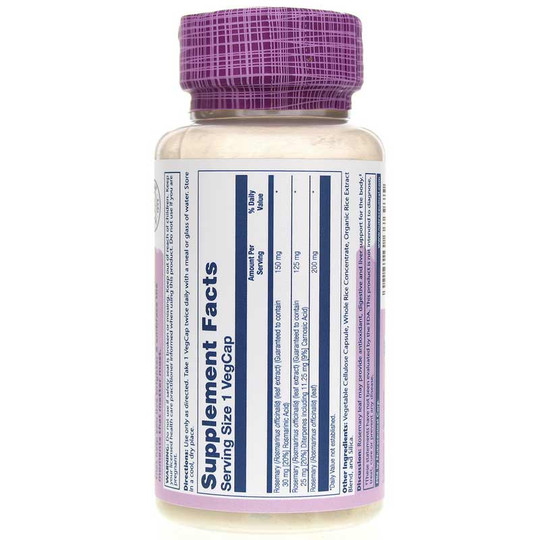 Rosemary Leaf Extract 275 Mg