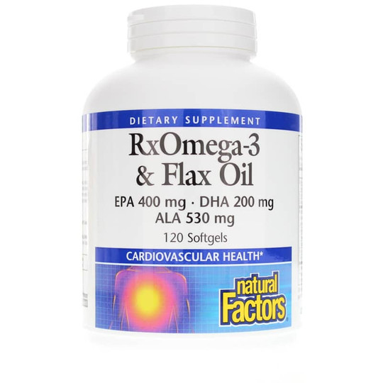 RxOmega-3 & Flax Oil