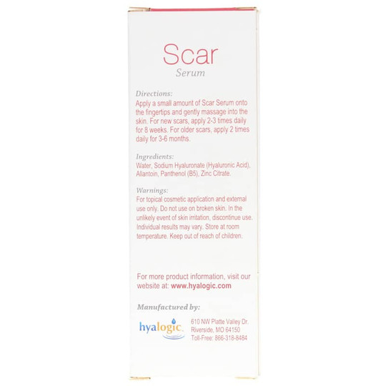 Scar Serum with Hyaluronic Acid