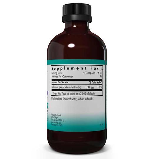 Selenium Solution Liquid, 8 Oz, Nutricology