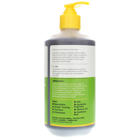 Shampoo & Body Wash for Kids Everyday Coconut