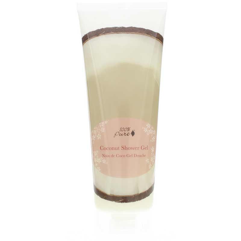 100% Pure Shower Gel Coconut 8 Oz