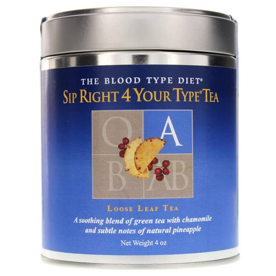 Sip Right 4 Your Type Loose Leaf Tea Blood Type A