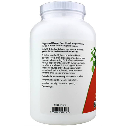 Spirulina Organic Pure Powder