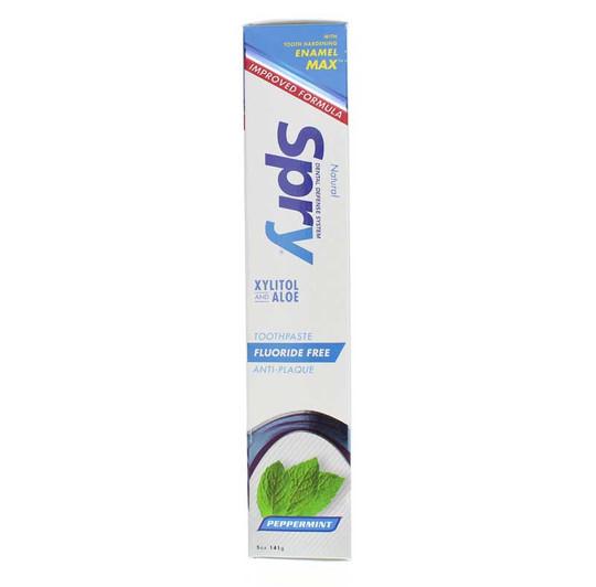 spry-xylitol-toothpaste-fluoride-free-XLR-pepmnt