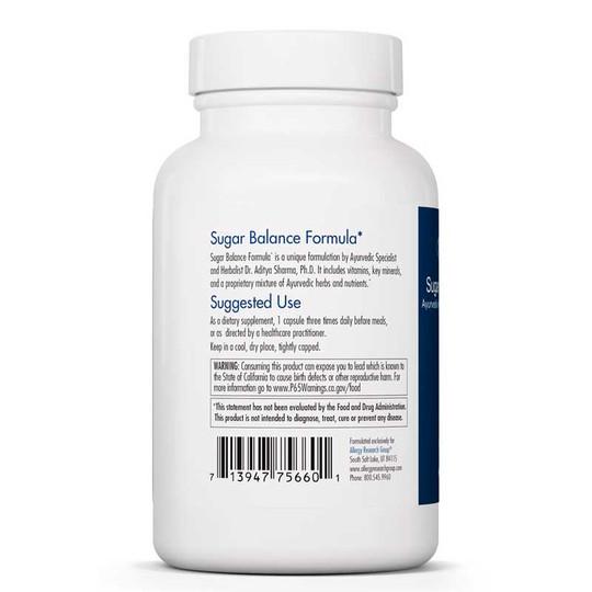 Sugar Balance Formula