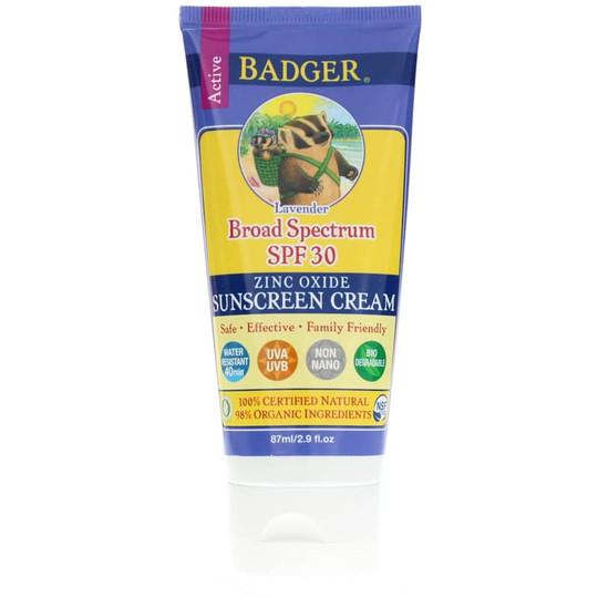 Sunscreen Cream Lavender SPF 30