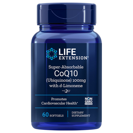 Super Absorbable CoQ10 100 Mg with d-Limonene