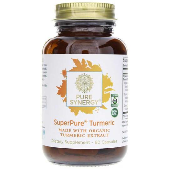 SuperPure Turmeric Organic Extract Capsules