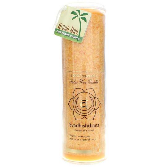 Svadhishthana Orange Unscented Candle