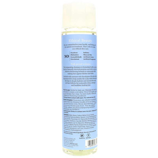 Thickening Shampoo for Thinning Hair
