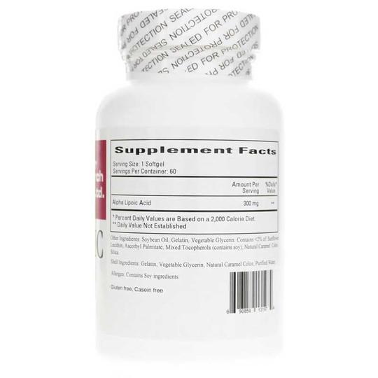 Thioctic (Alpha Lipoic Acid) 300 Mg