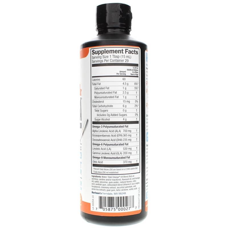 Barleans Organic Oils Total Omega 3-6-9