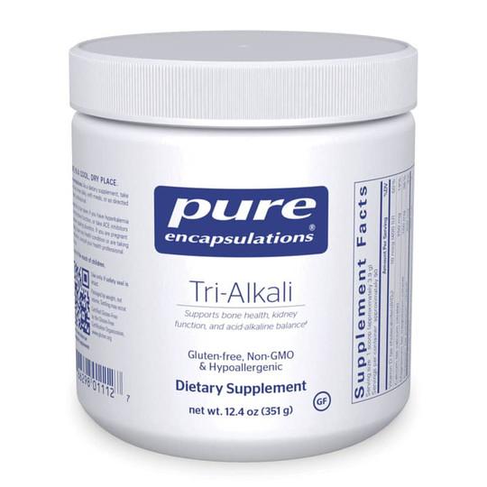 Tri-Alkali Mineral Citrates with Vitamin D3