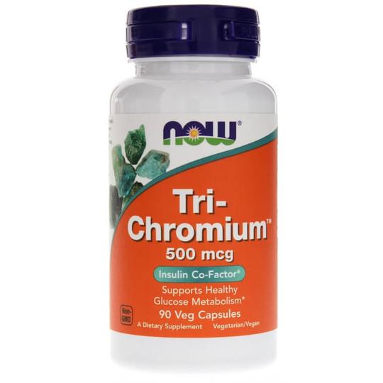 60d1f27b8 Tri-Chromium 500 Mcg, NOW Foods