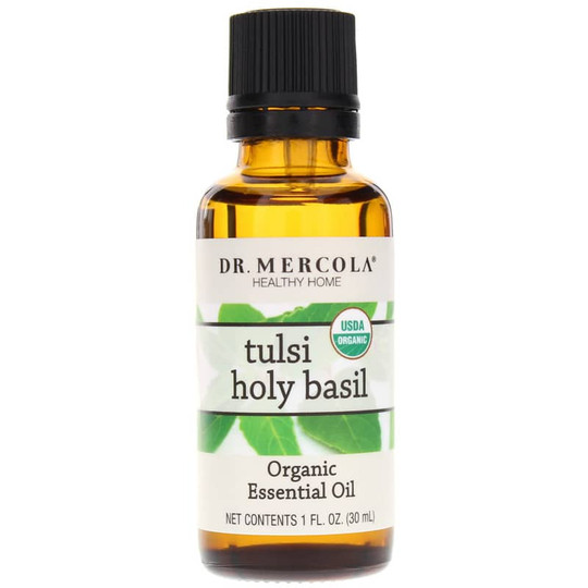 Tulsi Holy Basil Organic Essential Oil
