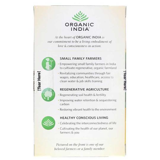 Tulsi Lemon Ginger Organic Tea