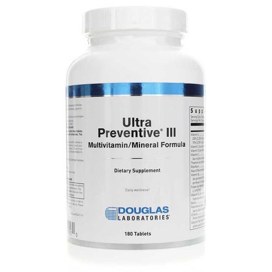 Ultra Preventive III Multivitamin Tablets