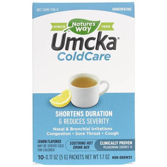 Umcka ColdCare Drink Mix Lemon Flavor