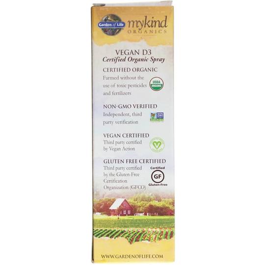 Vegan D3 1,000 IU Organic Spray Vanilla