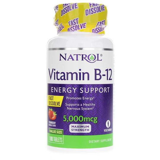 Vitamin B-12 5000 Mcg Fast Dissolve