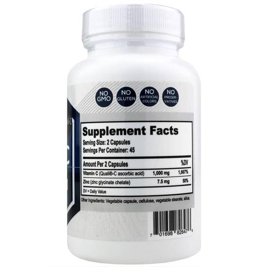 Vitamin C with Zinc Glycinate