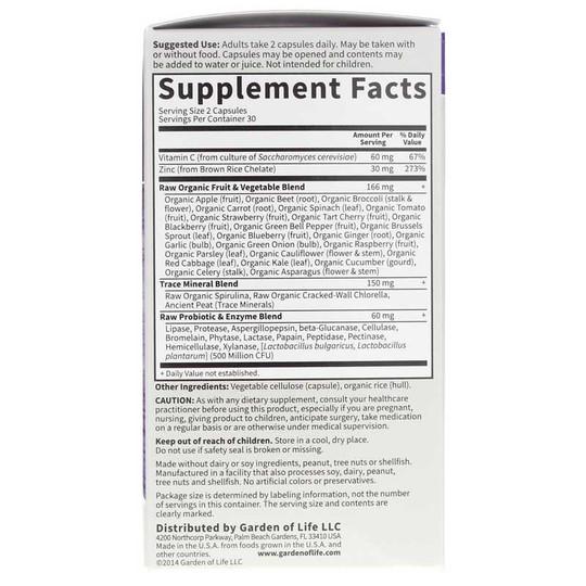 Vitamin Code Raw Zinc 30 Mg