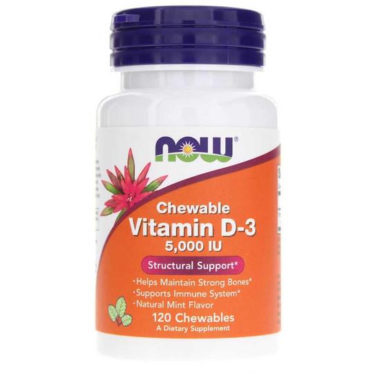Vitamin D-3 5,000 IU Chewable