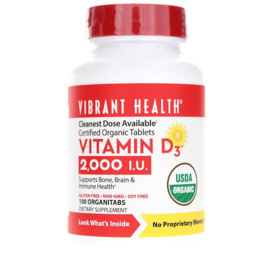 Vitamin D3 2000 IU Organic